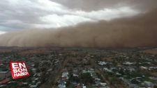 Avustralya'da dev toz bulutu