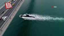 TCG Sakarya denizaltısının bir günlük yolcuğunu