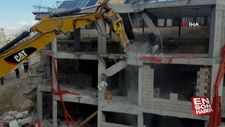 Kapadokya'da otel yıkımları başladı
