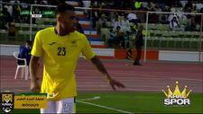 Rodrigues daha sahaya çıkmadan kırmızı kart gördü