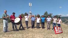 Amasyalı köylülerin internet sevinci