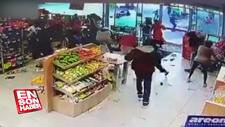 Güney Afrika'da market yağmaları başladı