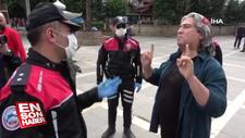 Adanalı şahsın şaşırtan maske inadı