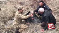 Kaybolan alzheimer hastasını Mehmetçik buldu