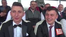 Fanatik damat, düğünden çıkıp maç izlemeye gitti