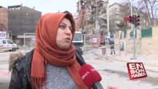 Evi yıkılan kadın: Cana geleceğine mala gelsin