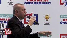Cumhurbaşkanı Erdoğan'dan terörle mücadele vurgusu