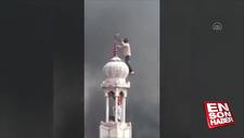 Hindistan'da cami minaresi hedef alındı