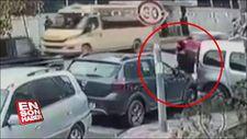 Kağıthane'de lüks cipe silahlı saldırı