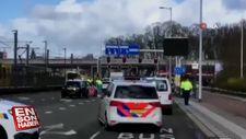 Hollanda'da tramvayda ateş açıldı