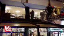 Bayrampaşa'da palalı saldırgan, polis tarafından vuruldu