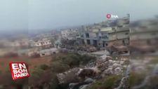 TSK konvoyu, İdlib'in Cabal el Zaviye bölgesinde görüntülendi
