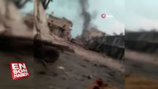 Esad ve Rus uçakları İdlib'i vurdu