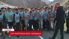 Zap Vadisi'nde kros yarışması
