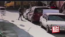 Hırsızları durdurmak için pencereden atlayan genç