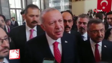 Cumhurbaşkanı HDP'nin konuşmasını dinlemedi
