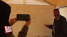 İdlib'de uzaktan eğitim başladı