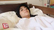 Suriyeli kadın kolunu ot kıyma makinesine kaptırdı