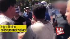 Yeğen Öcalan polise parmak salladı