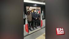 Yenikapı-Kirazlı metrosunda yoğunluk