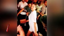Irina Shayk'tan kalça dansı
