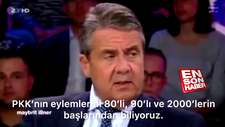 Eski Alman Bakan Sigmar Gabriel'den PKK açıklaması