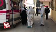 Hastaneden kaçan koronavirüs hastası kadın, evinde yakalandı