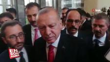 Erdoğan: Ben şehit evi ziyaretine sorarak gidiyorum