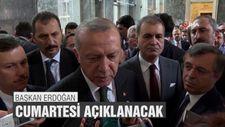 Başkan Erdoğan: Cumartesi bir kısmı açıklanacak