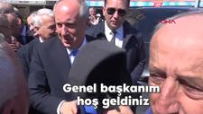 Muharrem İnce'ye: Genel başkanım hoş geldiniz