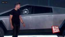 Tesla'nın kırılmaz camı, tanıtım esnasında kırıldı