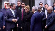 Hırvatistan Cumhurbaşkanı Kitaroviç, TBMM'de