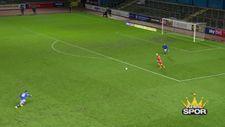 Notts County kalecisinin yedi gol güldürdü