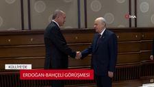 Başkan Erdoğan ve Devlet Bahçeli görüşmesi