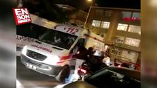 Bakırköy'de ambulans şoförüne darp