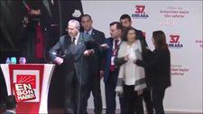 CHP Ankara Kongresi'nde kavga çıktı