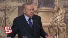 Erdoğan: Putin'e 'çekilin bizi rejimle baş  başa bırakın' dedim