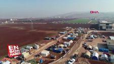 Türkiye, İdlib'den kaçan Suriyeliler için 9 kamp kurdu