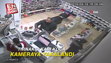 Tırnakçı karı koca kameraya yakalandı