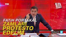 Fatih Portakal: Zamları protesto edelim