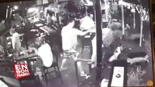 Avustralyalı turist adamın kafasında şişe kırdı