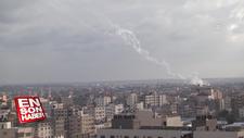 Gazze'den İsrail tarafına roket atışları sürüyor
