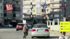 Kamyon sürücüsünden bıçaklı saldırı