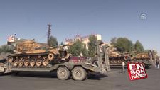 Fırat'ın doğusuna tank sevkiyatı devam ediyor