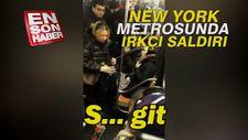 New York metrosunda bir kişi Çinli kadına saldırdı
