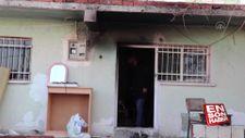 Tinerle soba tutuşturmak isteyen iki kardeş yaralandı
