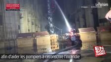 Notre Dame yangınına müdahale eden robot itfaiyeci