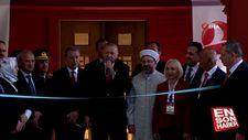 Erdoğan, Şehitler Abidesi Camii'nin açılışını yaptı