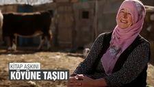 Kitap aşkını köyüne taşıdı