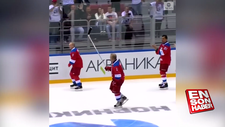 Putin takes a tumble after big performance at hockey exhibition